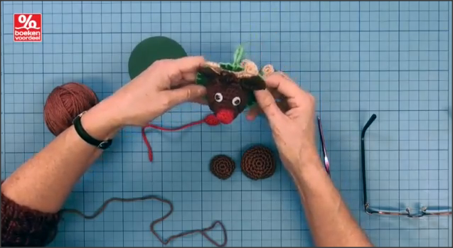 Rudolph Kersthanger Haakpakket