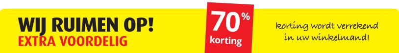 70% (Kassakorting)