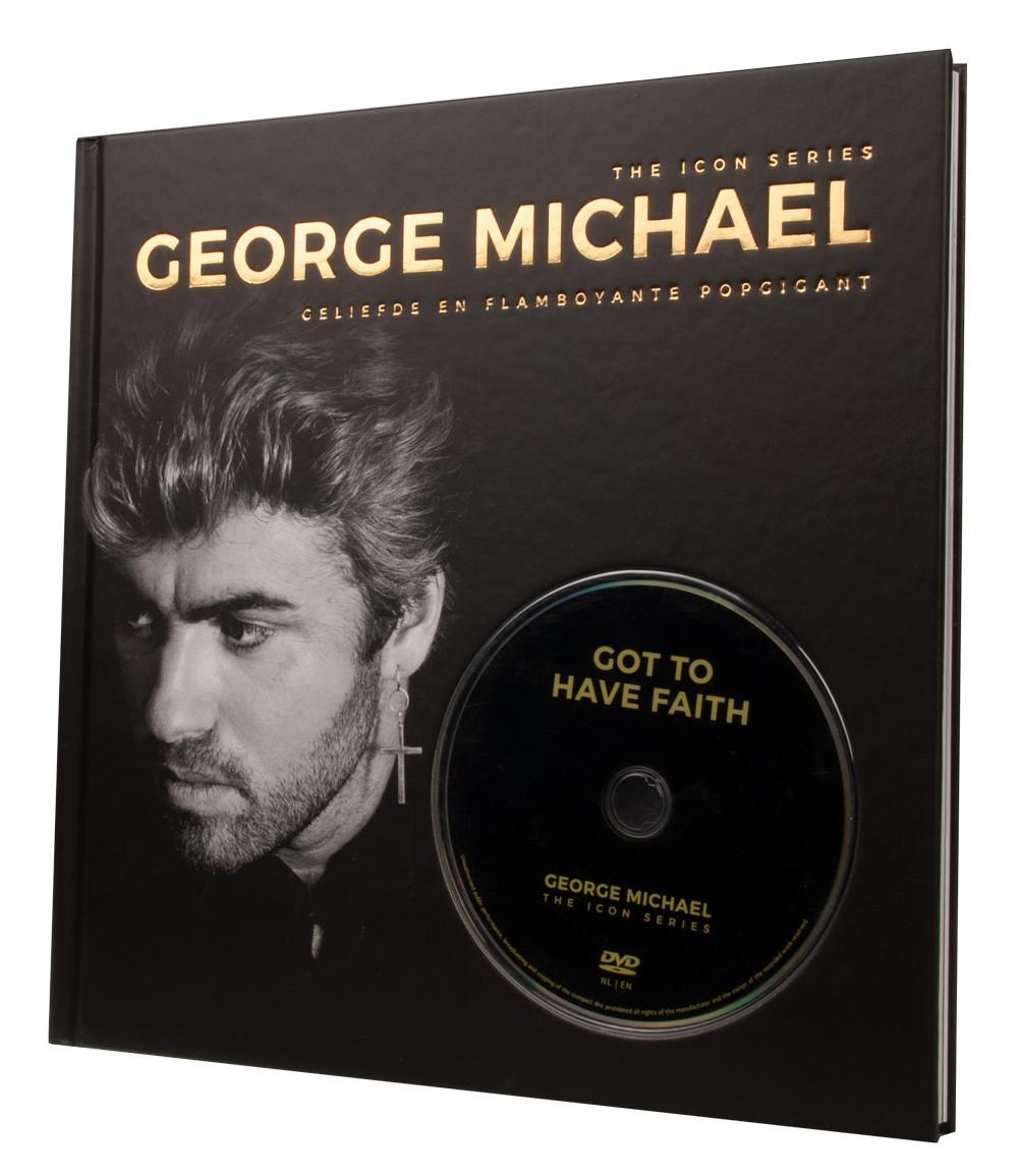 Boekenvoordeel The Icon Series George Michael Boekdvd