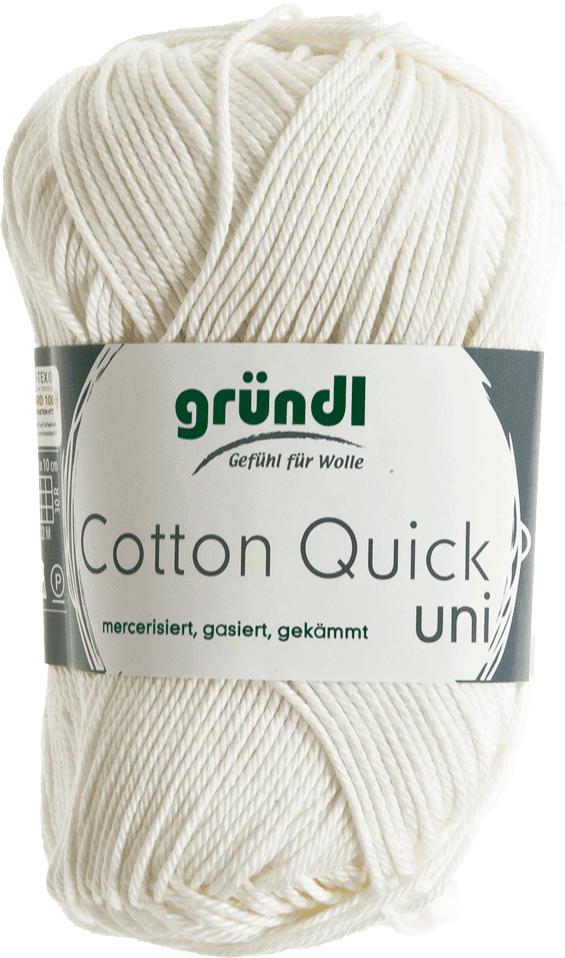 Gr/ündl Wolle Cotton Quick Uni