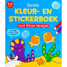 Eliza: Kleur- en Stickerboek voor de Allerkleinsten