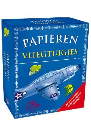 Boek & Spel Papieren Vliegtuigjes