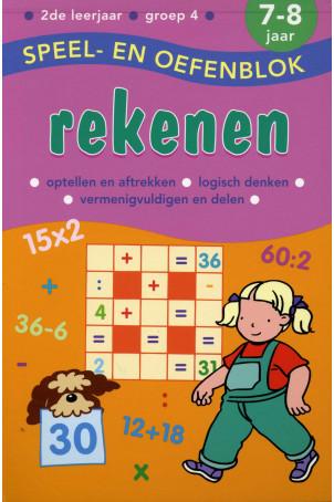 Speel en Oefenblok 7 tot 8 Jaar Rekenen