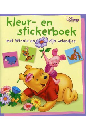 Winnie the Pooh Kleur en stickerboek