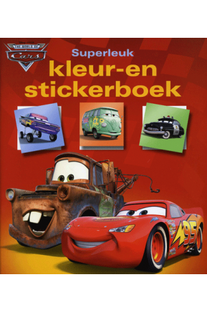 Cars Superleuk Kleur en Stickerboek
