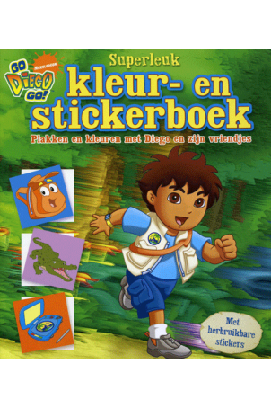 Diego Superleuk Kleur en Stickerboek