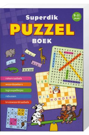 Superdik Puzzelboek 9 tot 11 Jaar