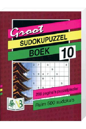 Groot Puzzelboek Sudoku 10