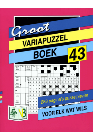 Groot Puzzelboek Variapuzzel