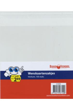 Wenskaartzakjes vierkant