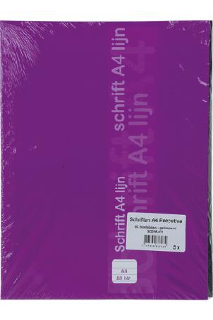 Schriften A4 Gelinieerd 80 Bladzijden. (5 stuks)