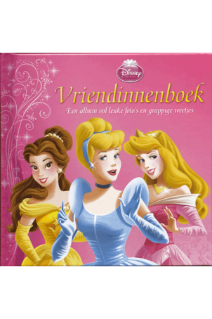 Disney Vriendenboekje Prinsessen