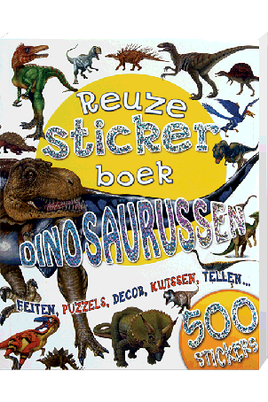 Reuze Stickerboek Dinosaurussen