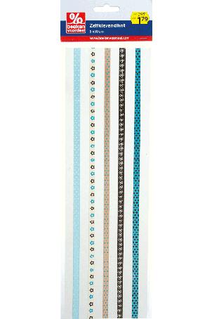 Zelfklevend lint zand-aqua