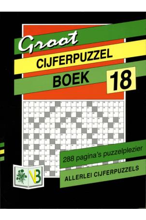 Groot Puzzelboek Cijferpuzzel 18