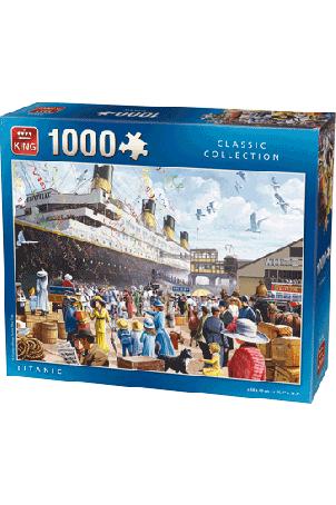Puzzel Titanic (1000 stukjes)