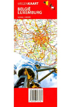 Falk wegenkaart België/Luxemburg