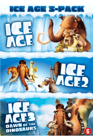 Dvd Ice Age 1 t/m 3 (3 dvd's)