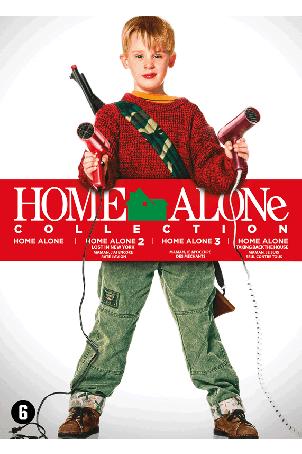 Dvd box Home Alone 1 t/m 4 (complete collectie)