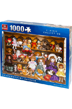 PUZZLE GRANDMOTHERS DRESSER 1000 PCS