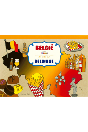 Anti stress kleurboek belgie