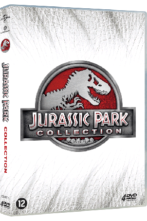 Dvd Jurassic Park 1t/m 4 collection