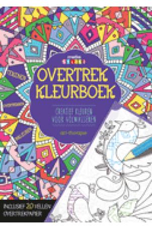 Overtrek kleurboek Creative Colors