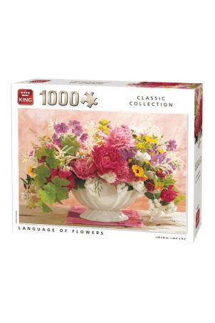 Puzzle The Language of Flowers, 1000 stukjes