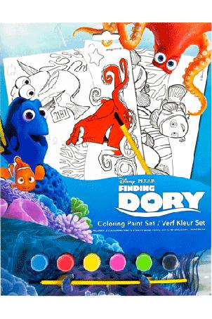 Finding Dory verf kleur set