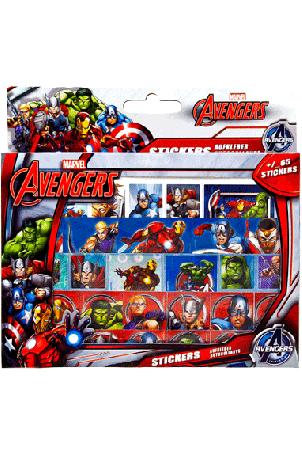 Avengers Stickerbox 4 vellen