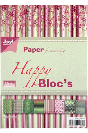 Joy Papierblok A5 Happy