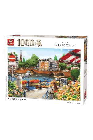 PUZZLE AMSTERDAM 1000 PCS