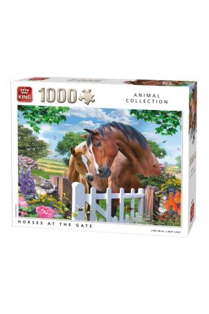 PUZZLE HORSES AT THE GATE 1000 PCS