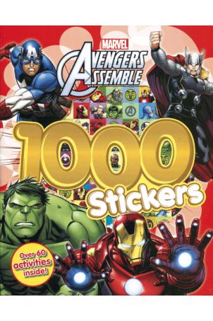 Avengers Assemble activiteiten boek met 1000 stickers