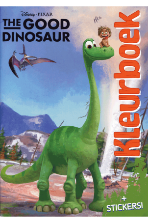 The good dinosaur kleurboek met stickers