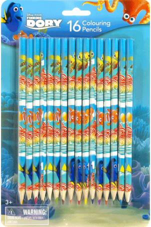 Kleurpotloden 16 delig assorti