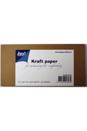 Kraft papier 30,5 x 15 cm