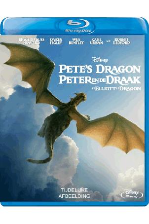 Peter en de draak (2016) blu-ray