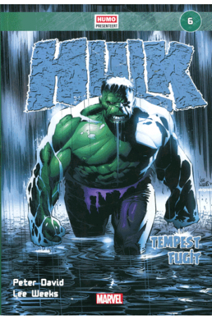 Marvel Stripboek (6) Hulk - Tempest Fugit