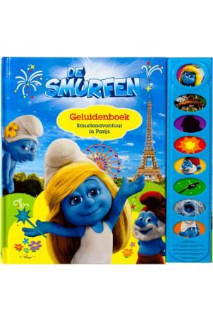 Geluidenboek De Smurfen Smurfenavontuur in Parijs