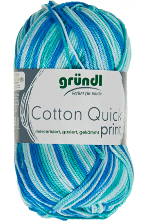 COTTON QUICK PRINT 183 AQUA MULTICOLOR 50GR