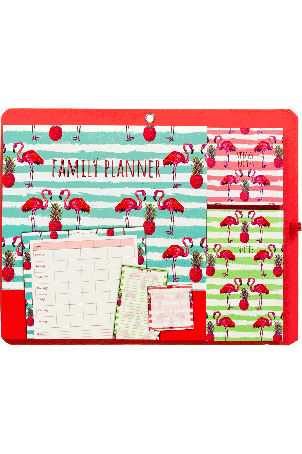 Sticky notes family planner