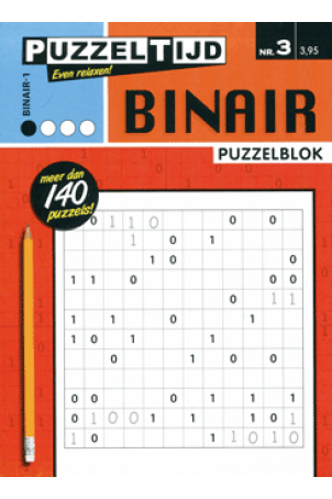 Puzzelblok binair 1 punt nr 3