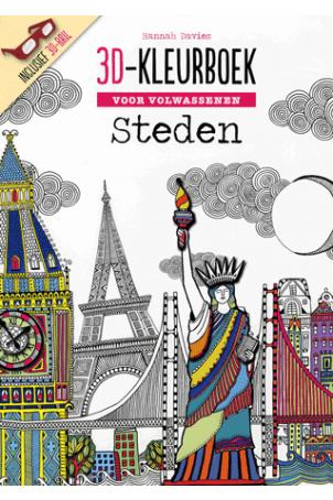 Kleurplaten Voor Volwassenen Op Reis.Boekenvoordeel Verrast Je Met Boek Hobby En Cadeau 3d Kleurboek