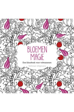 Bloemen-magie, een kleurboek voor volwassenen