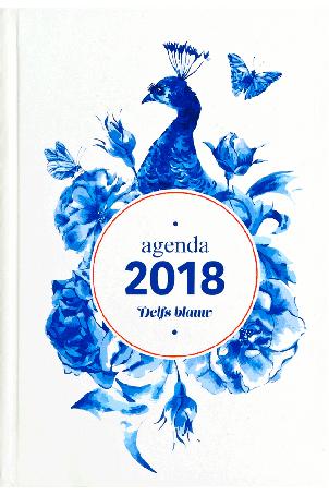 Luxe agenda 2018 Delfts Blauw