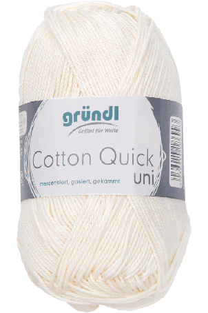 Cotton Quick Uni 132 ECRU 50GR