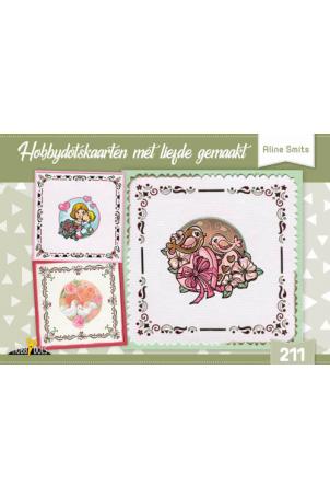 Hobbydots kaarten met liefde (incl stickers)