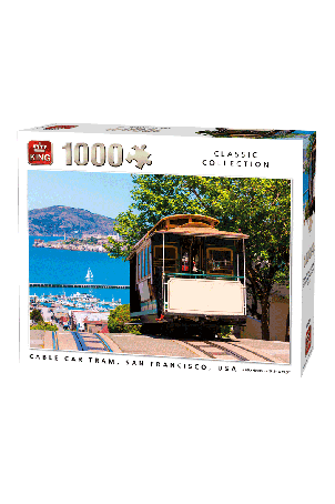 Puzzel Cable Cart USA (1000 stukjes)