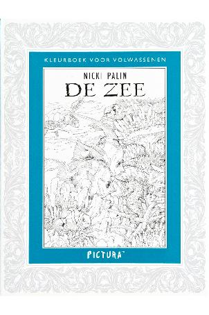 Kleurboek voor volwassenen - De Zee